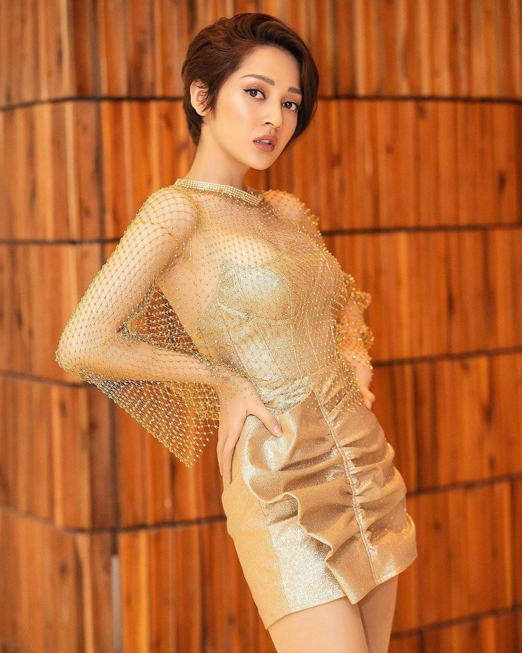 Bao Anh o tuoi 27 - ve ngoai pha cach, on ao chuyen yeu Ho Quang Hieu hinh anh 6