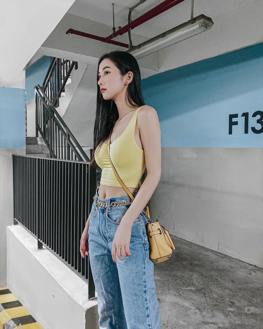 Phuong Trinh mac vay xuyen thau, Thieu Bao Tram duoc khen nhu bup be hinh anh 15