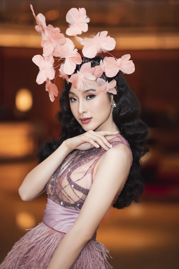 Phuong Trinh mac vay xuyen thau, Thieu Bao Tram duoc khen nhu bup be hinh anh 1