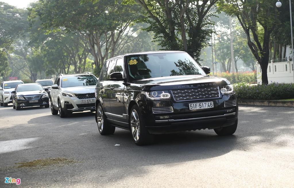 Dan xe Rolls-Royce, Maybach xuat hien trong le cuoi Bao Thy hinh anh 10