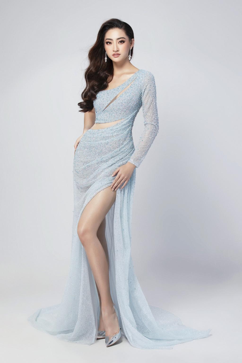 Luong Thuy Linh mac vay xe cao khoe chan 1,22 m o chung ket Miss World hinh anh 6 null
