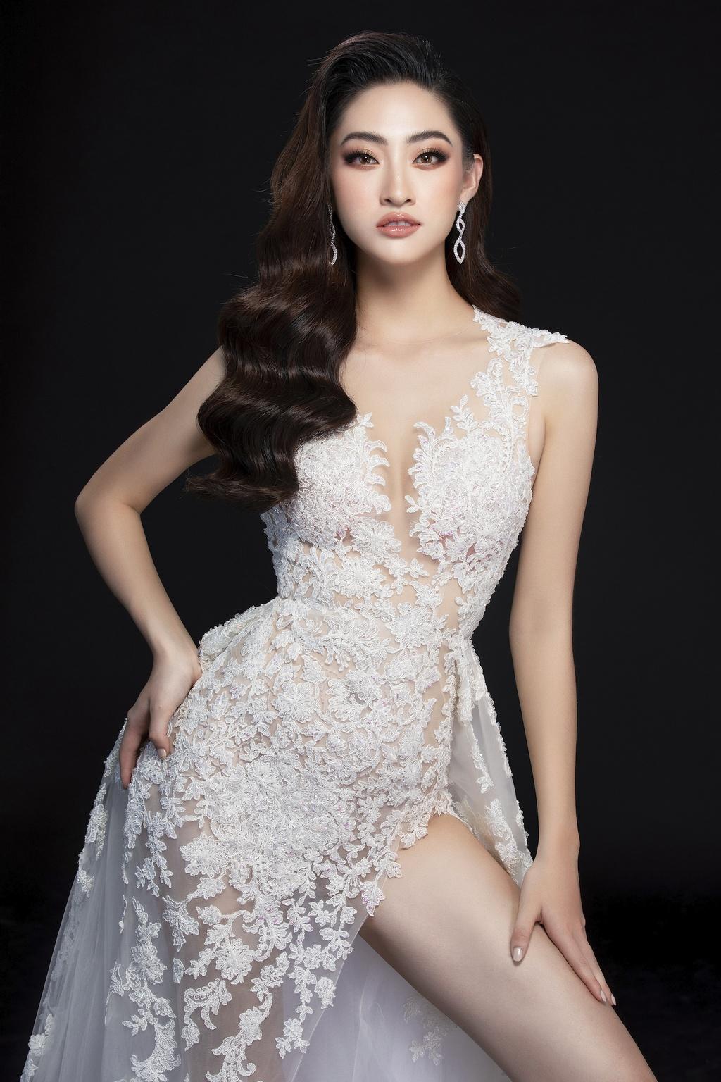 Luong Thuy Linh mac vay xe cao khoe chan 1,22 m o chung ket Miss World hinh anh 7 null