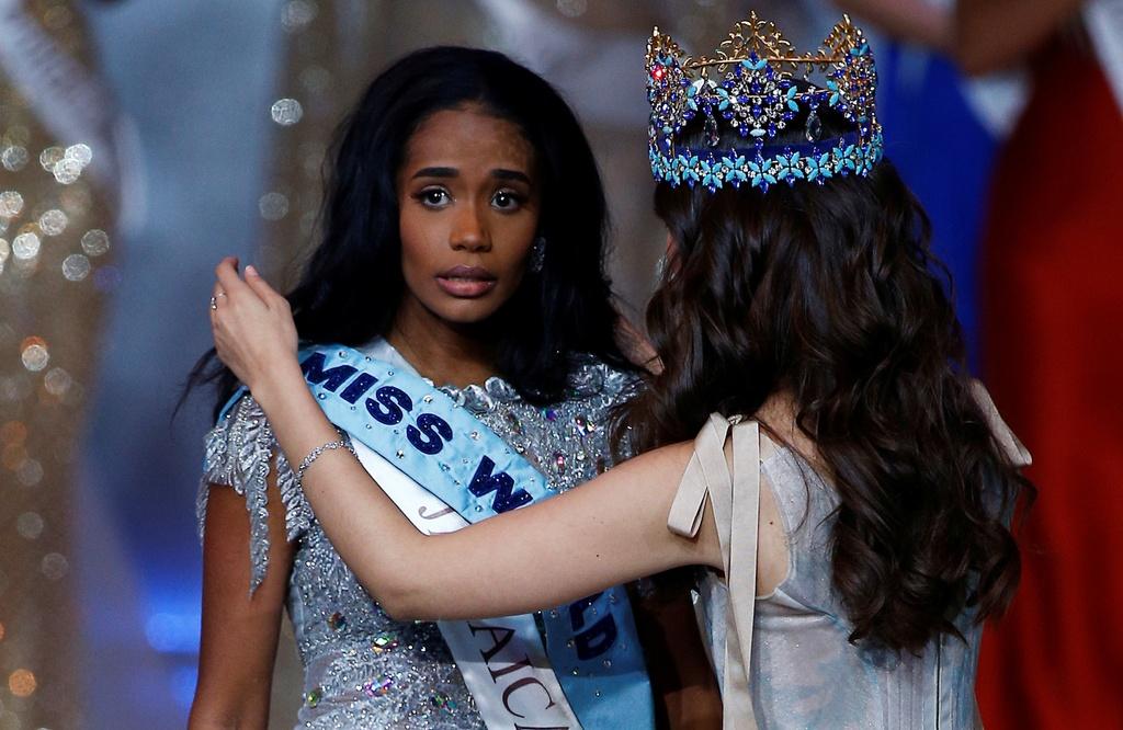 Nguoi dep Jamaica hoang mang khi dang quang Miss World 2019 hinh anh 3