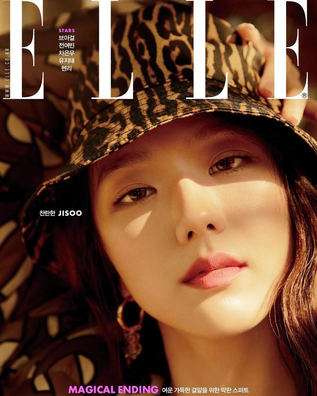 Bo anh khien Ji Soo (Black Pink) duoc vi dep nhu hoa hau hinh anh 7 1_BLACKPINK_Jisoo_ELLE_Korea_Magazine_December_2019_Issue_with_Burberry.jpg