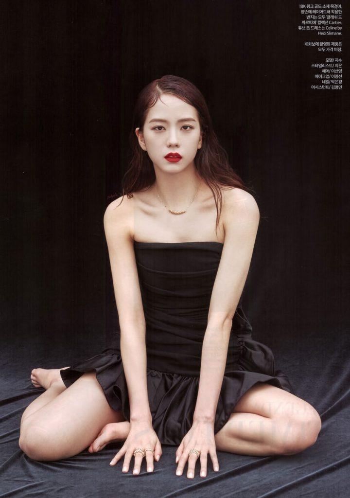 Bo anh khien Ji Soo (Black Pink) duoc vi dep nhu hoa hau hinh anh 11 3_Scan_BLACKPINK_Jisoo_for_Harpers_Bazaar_Korea_Magazine_720x1024.jpg