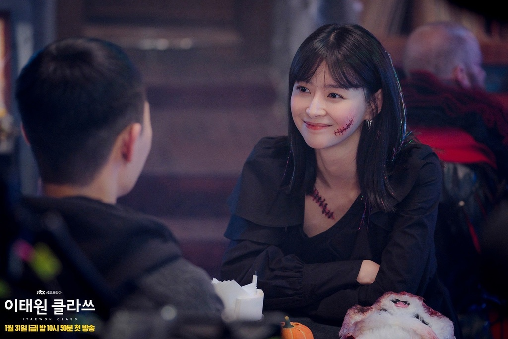 Sac voc nong bong cua my nu 'an chao da bat' trong 'Itaewon Class' hinh anh 2