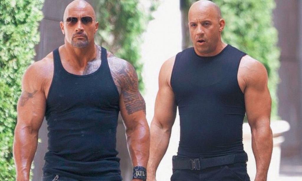 Vin Diesel va The Rock - co hoi nao cho cai bat tay sau lan cach mat? hinh anh 1