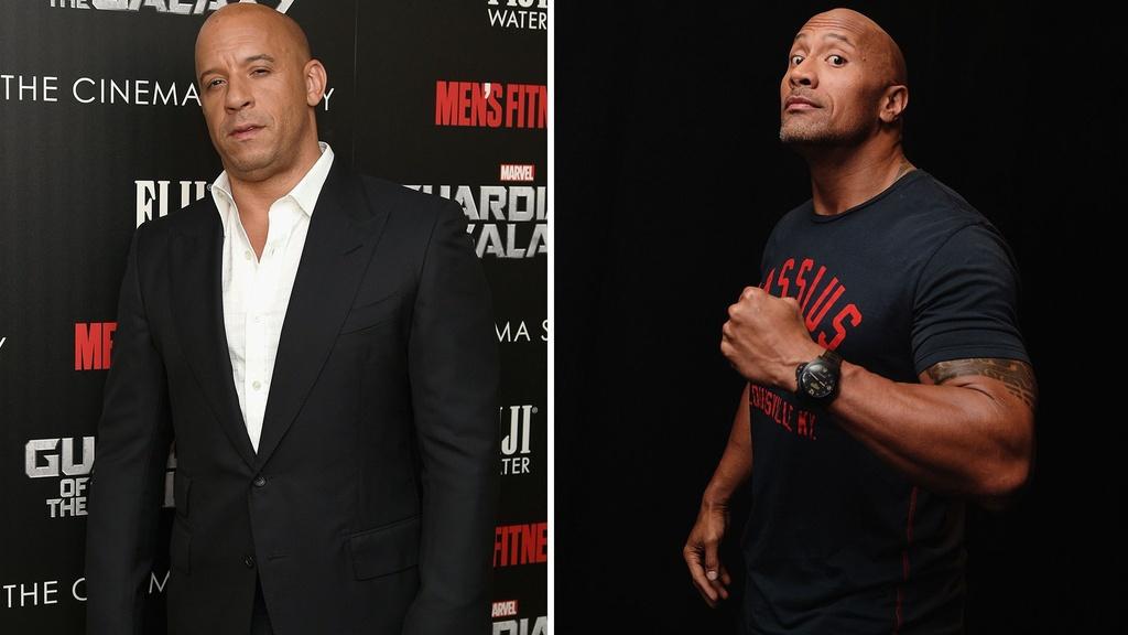 Vin Diesel va The Rock - co hoi nao cho cai bat tay sau lan cach mat? hinh anh 7