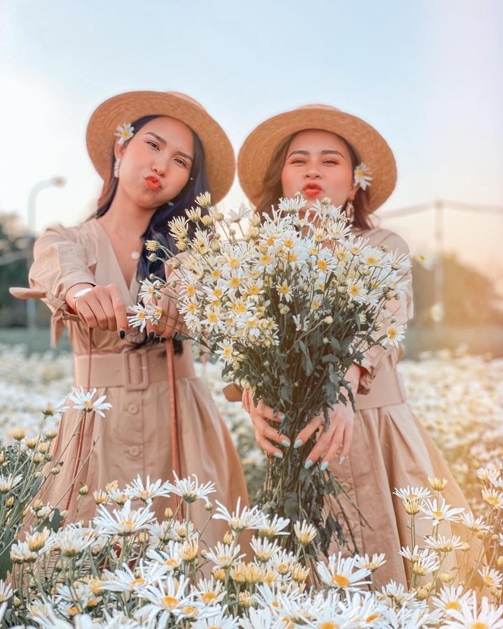 Gioi tre Ha Noi ru nhau check-in voi cuc hoa mi hinh anh 6