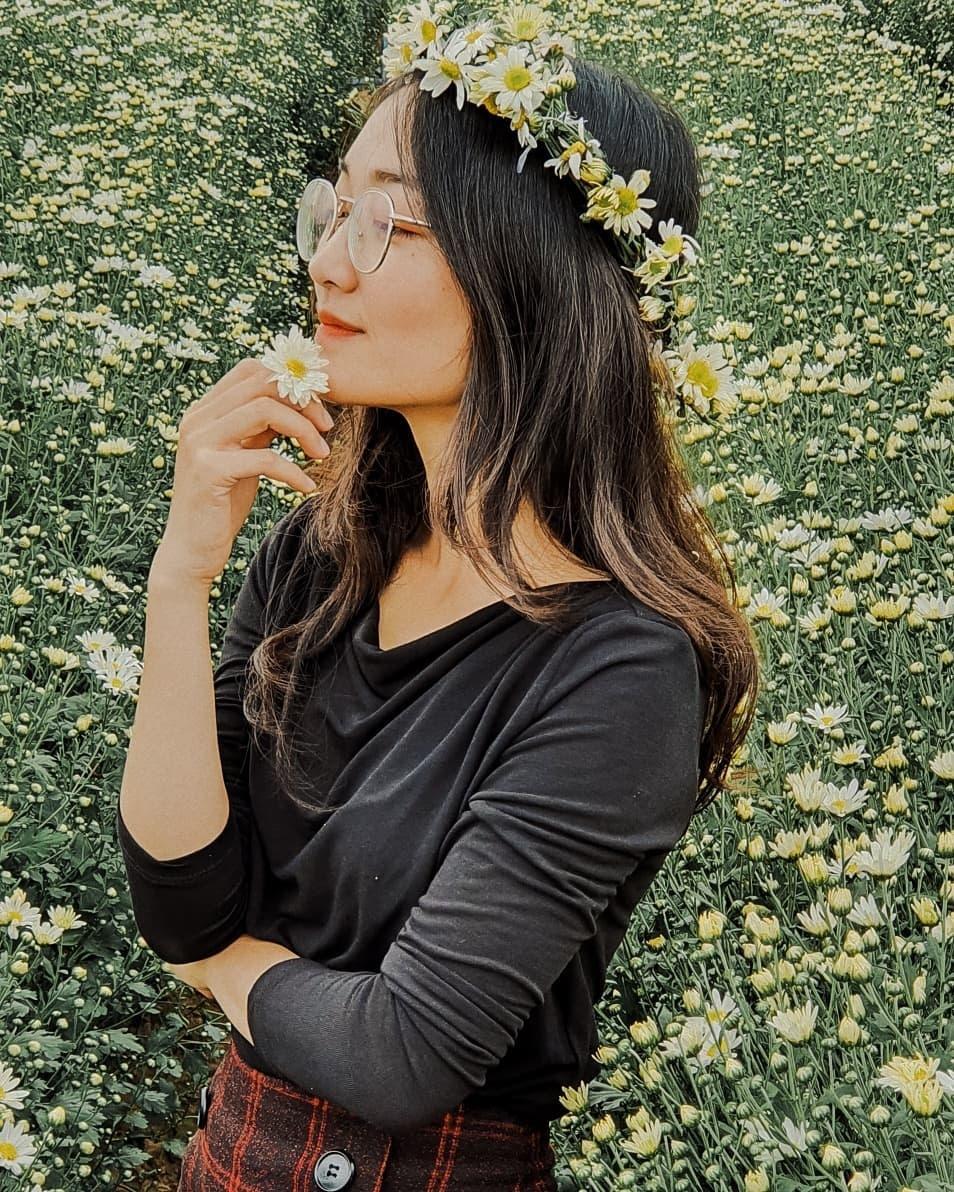 Gioi tre Ha Noi ru nhau check-in voi cuc hoa mi hinh anh 10