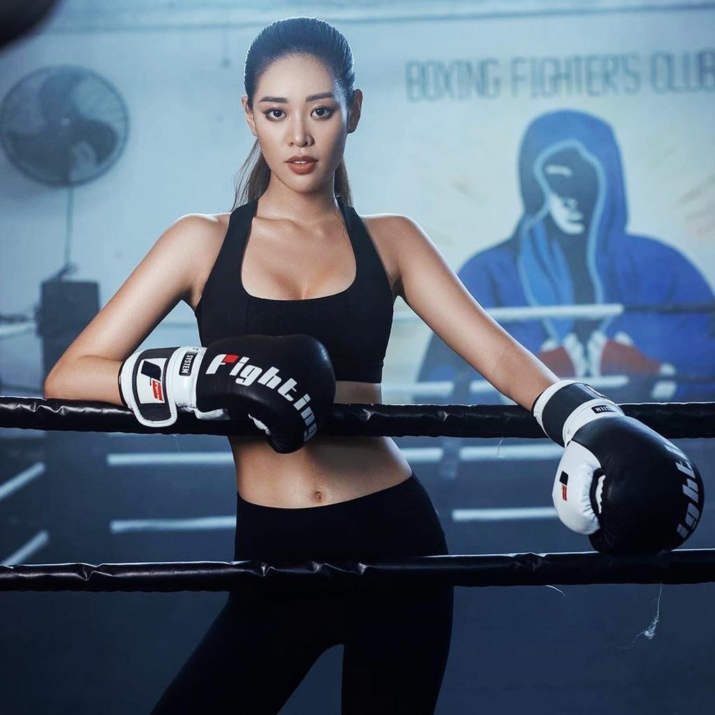 Hoa hau Khanh Van: 'Toi tap boxing de co voc dang quyen ru' hinh anh 4 Khanh_Van_cham_soc_da_4.jpg