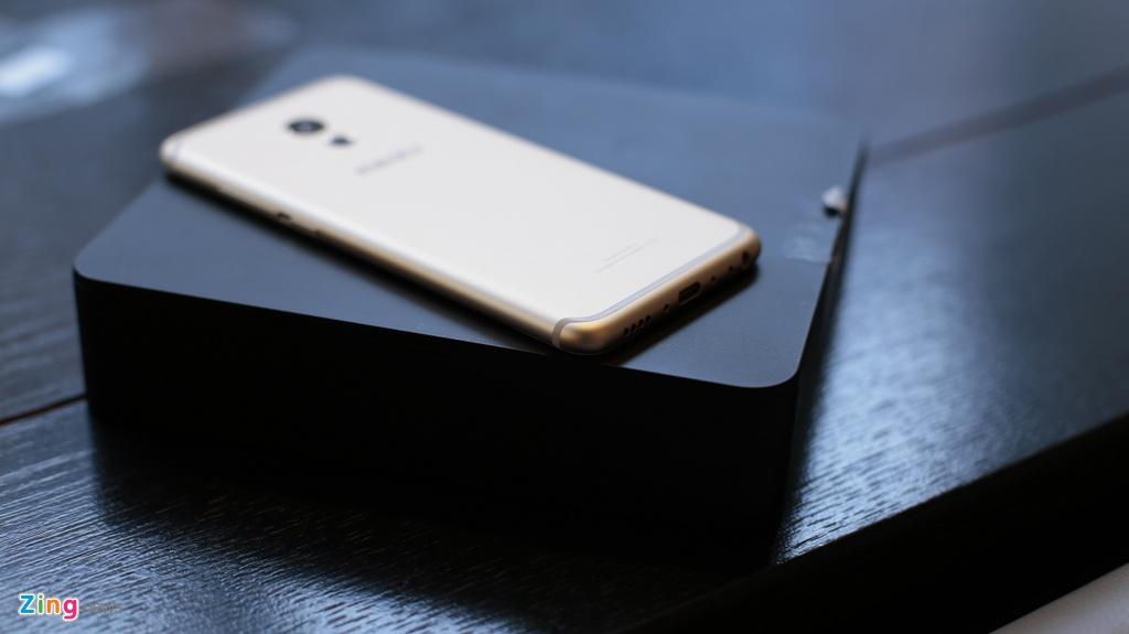 Meizu Pro 6 ra mat, chip 10 nhan, thiet ke don dau iPhone 7 hinh anh 3