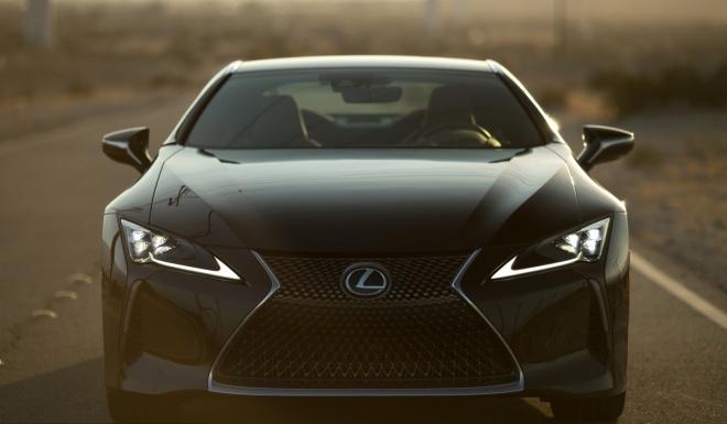 Lexus LC500 2017 khoe dang duoi hoang hon hinh anh 4