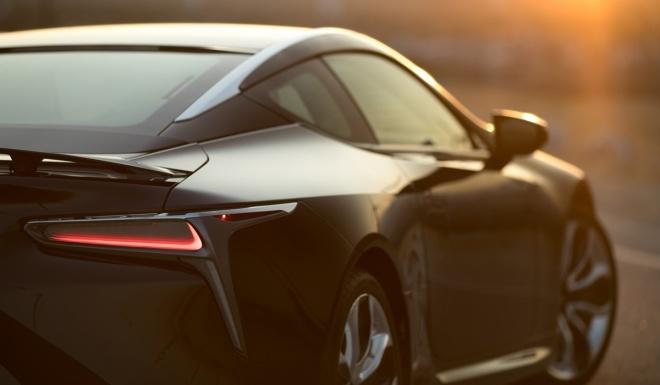Lexus LC500 2017 khoe dang duoi hoang hon hinh anh 5