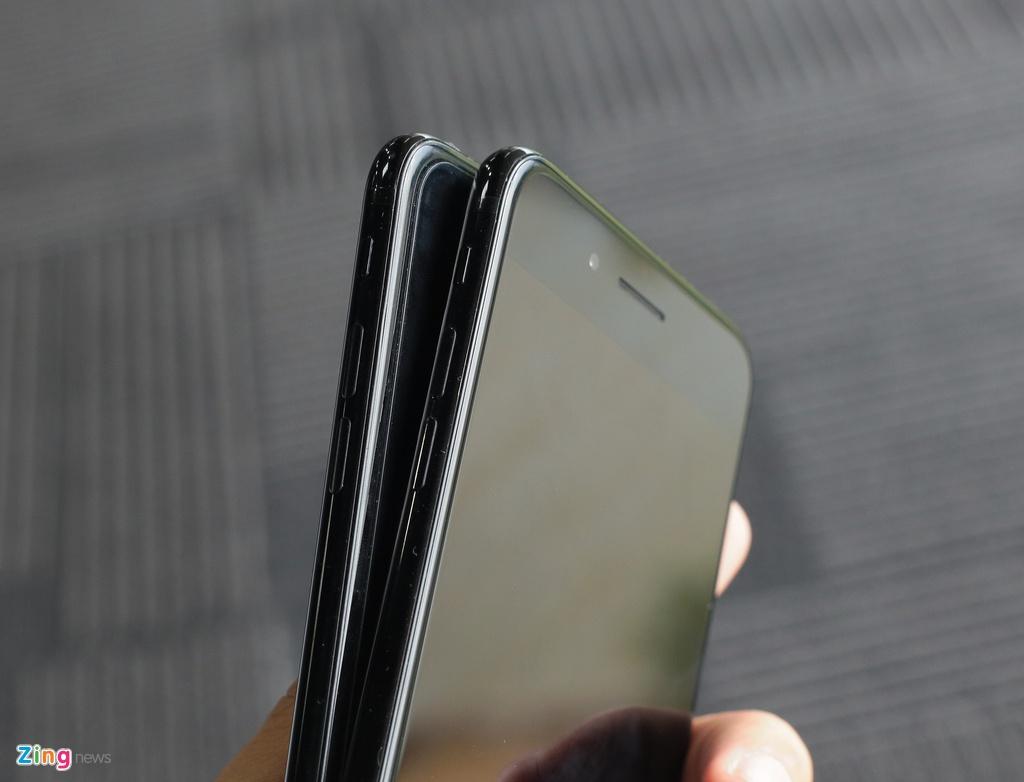 Bo doi iPhone 7 Jet Black tai Viet Nam hinh anh 4
