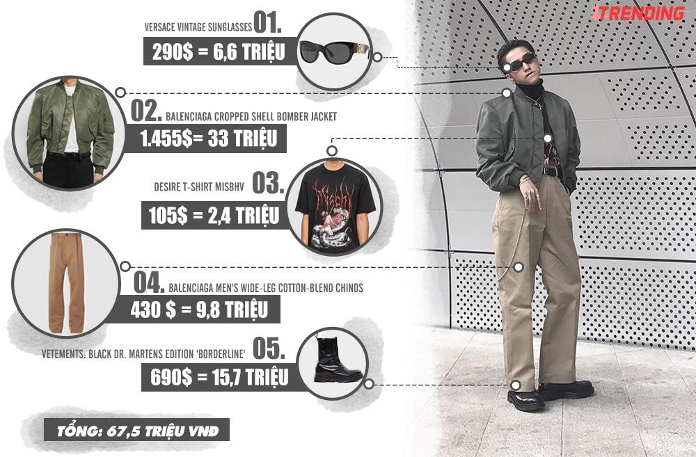 Trang phuc cua Son Tung M-TP tai Seoul Fashion Week gia bao nhieu? hinh anh 4