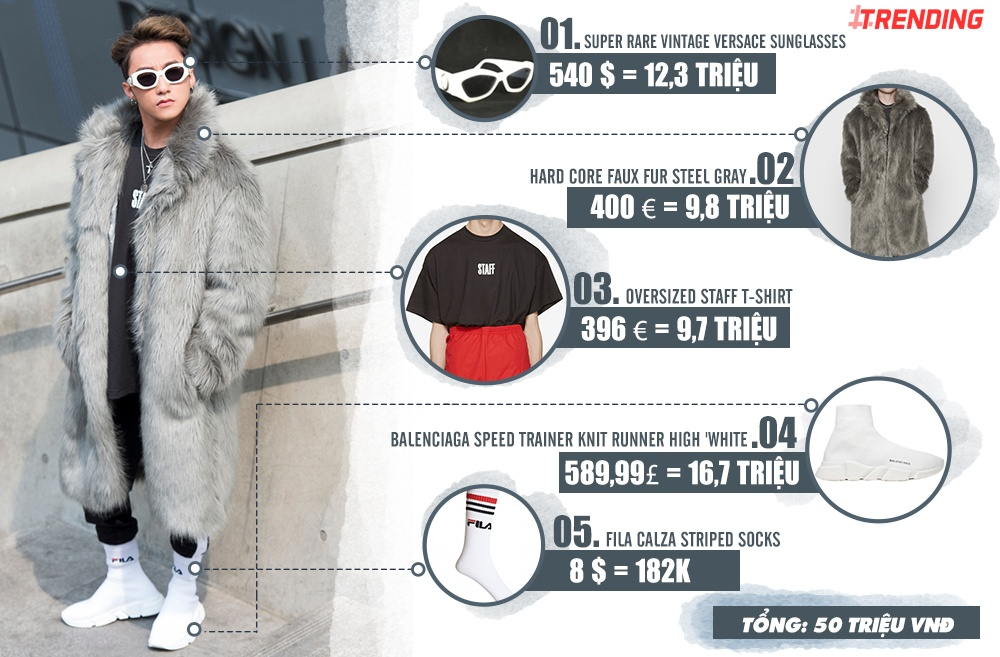 Trang phuc cua Son Tung M-TP tai Seoul Fashion Week gia bao nhieu? hinh anh 2