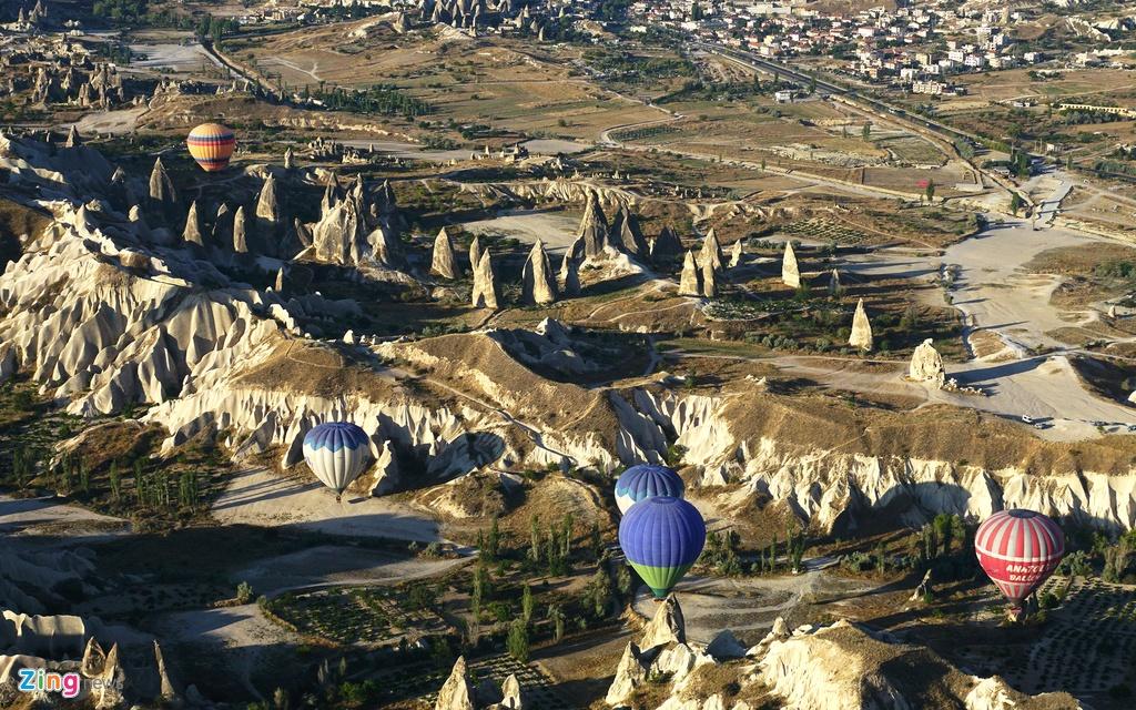 Ky quan thien nhien Cappadocia nhin tu khinh khi cau hinh anh 8