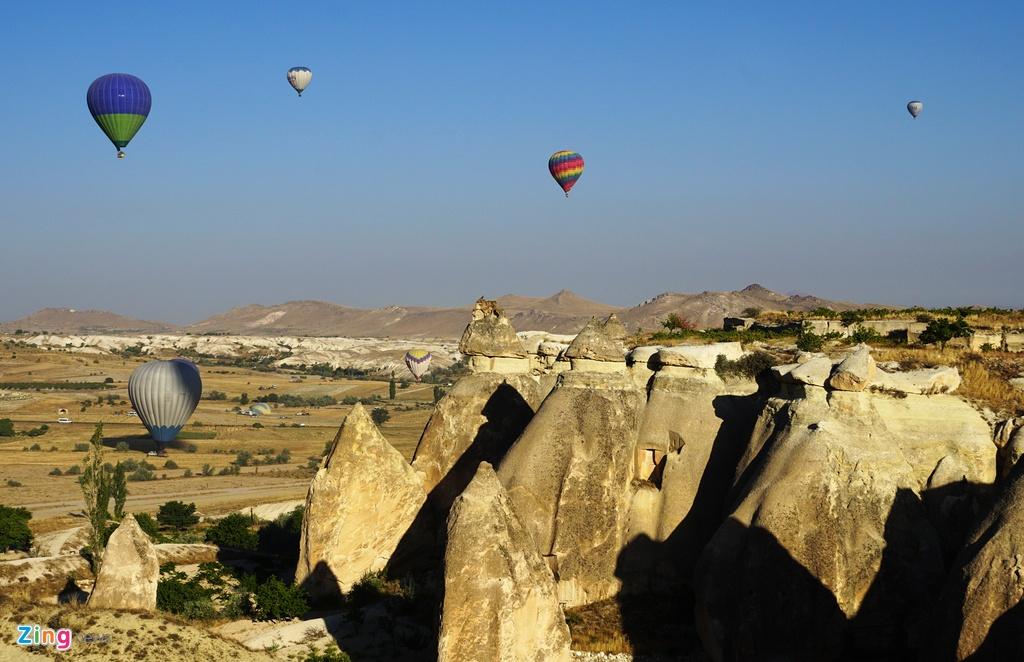 Ky quan thien nhien Cappadocia nhin tu khinh khi cau hinh anh 5
