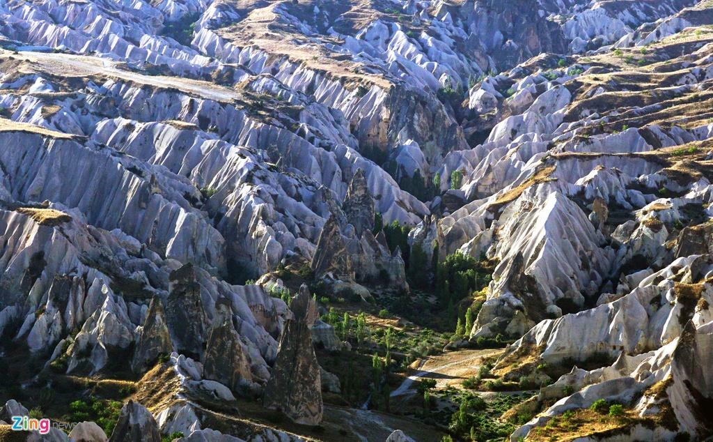 Ky quan thien nhien Cappadocia nhin tu khinh khi cau hinh anh 4