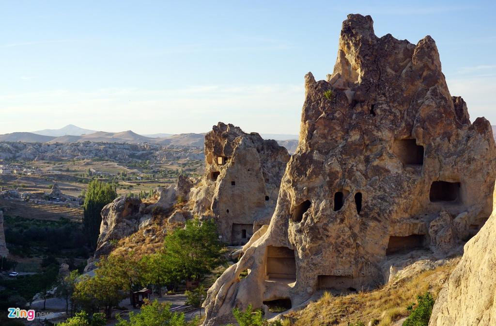 Ky quan thien nhien Cappadocia nhin tu khinh khi cau hinh anh 6