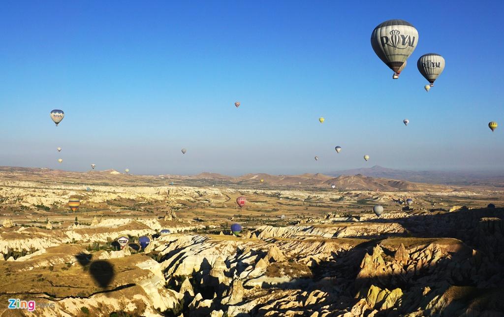 Ky quan thien nhien Cappadocia nhin tu khinh khi cau hinh anh 9