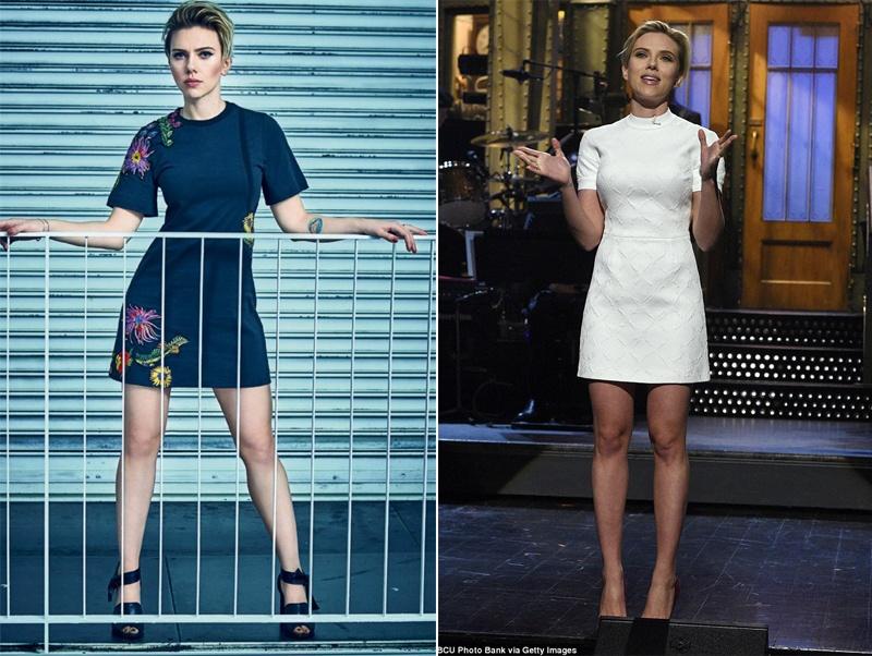 Thoi trang giau nhuoc diem cua my nhan nong bong Scarlett Johansson hinh anh 1
