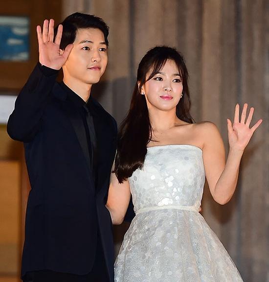 Song Hye Kyo va Song Joong Ki ket hon anh 5