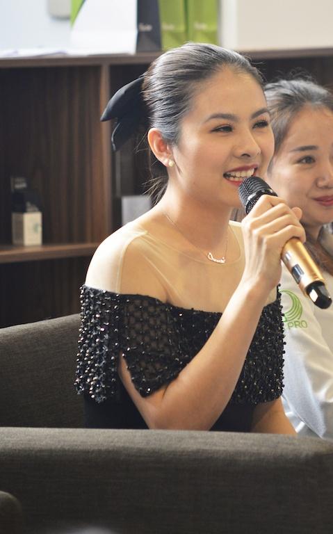Van Trang: 'Nghe si phai chiu trach nhiem khi quang cao san pham' hinh anh 2