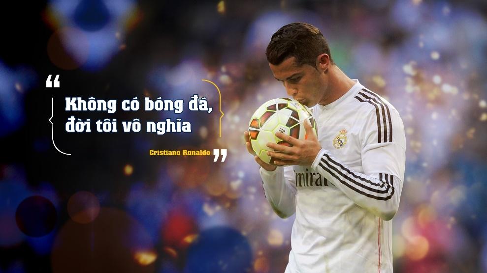 10 cau noi day cam hung cua Cristiano Ronaldo hinh anh 1