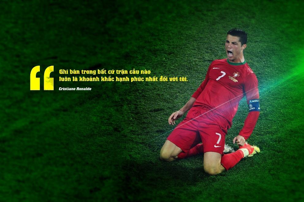 10 cau noi day cam hung cua Cristiano Ronaldo hinh anh 2
