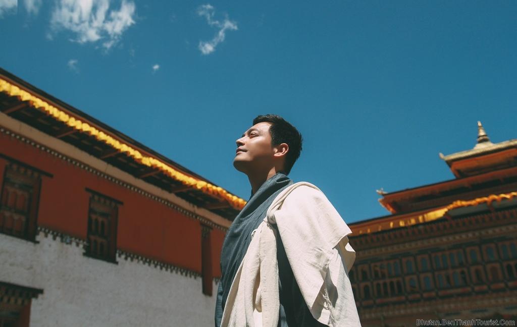 MC Phan Anh: 'O Bhutan, ngay nao toi cung thay than tam an lac' hinh anh 1