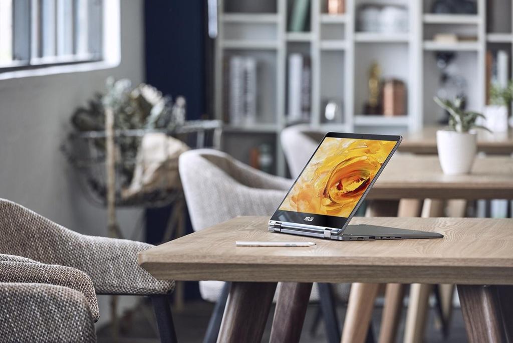 ZenBook Flip 14 - laptop co ban le xoay gap nho nhat the gioi hinh anh 4