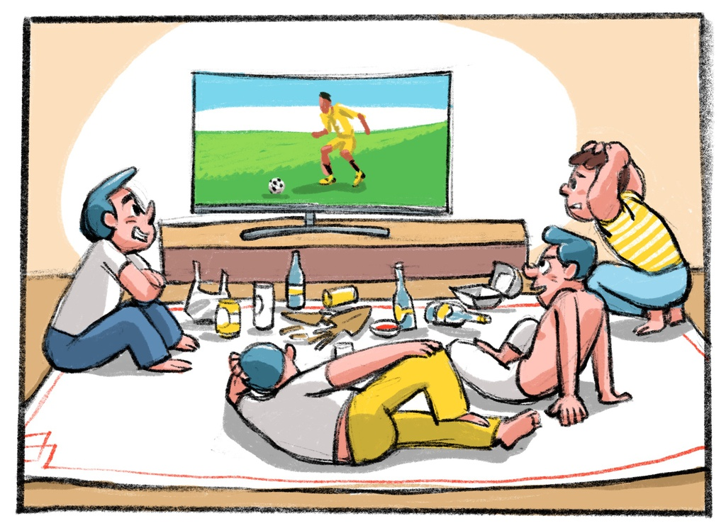 Xem chung ket World Cup phai the nao moi da? hinh anh 3