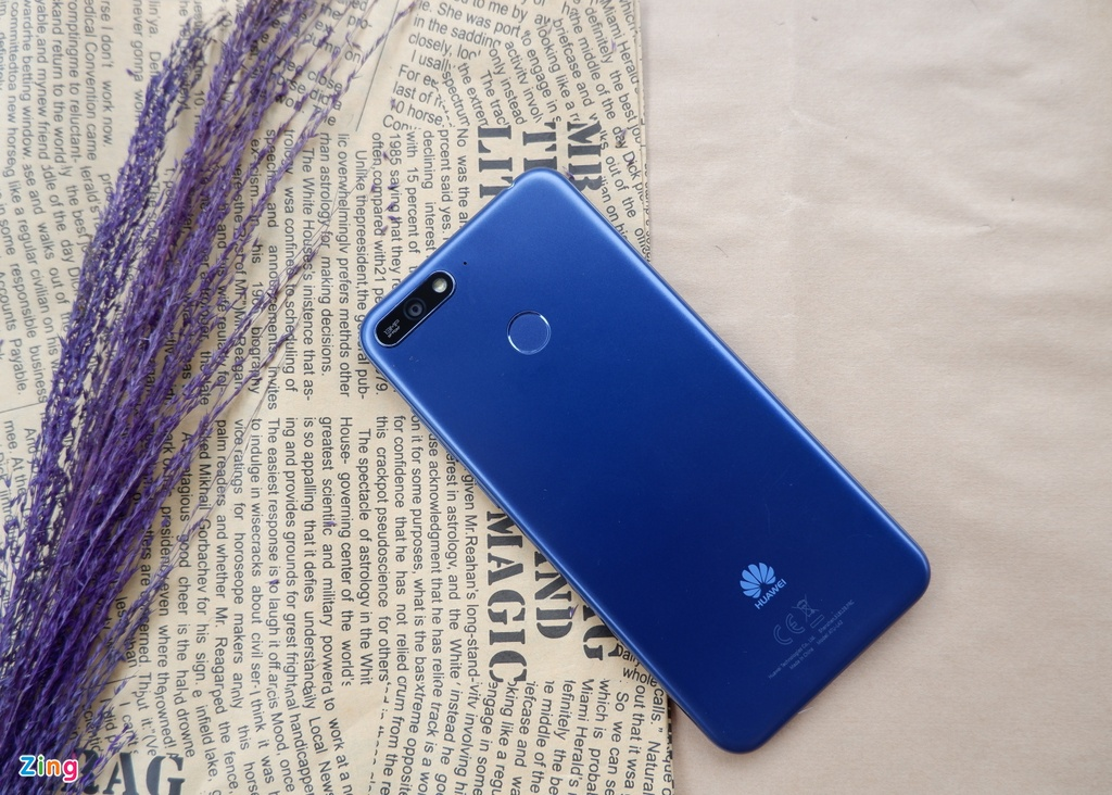 Huawei Y6 Prime: Thiet ke hien dai, hieu nang kha hinh anh 2