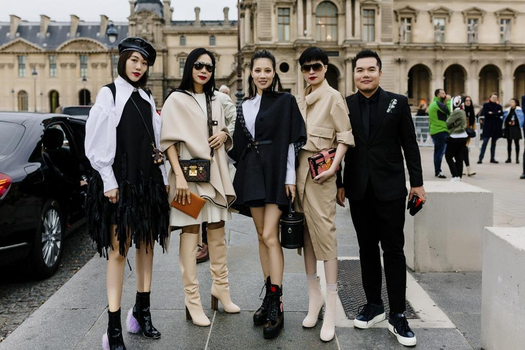 CEO Elise duoc Louis Vuitton moi du show xuan he hinh anh 4