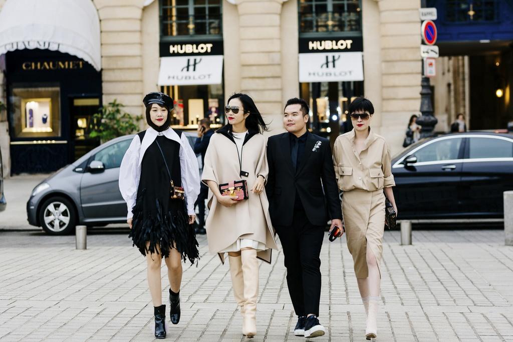CEO Elise duoc Louis Vuitton moi du show xuan he hinh anh 5