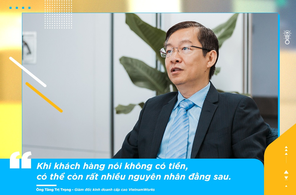 Giam doc KD VietnamWorks: 'Sales khong phai nghe di xin, ma la di cho' hinh anh 7