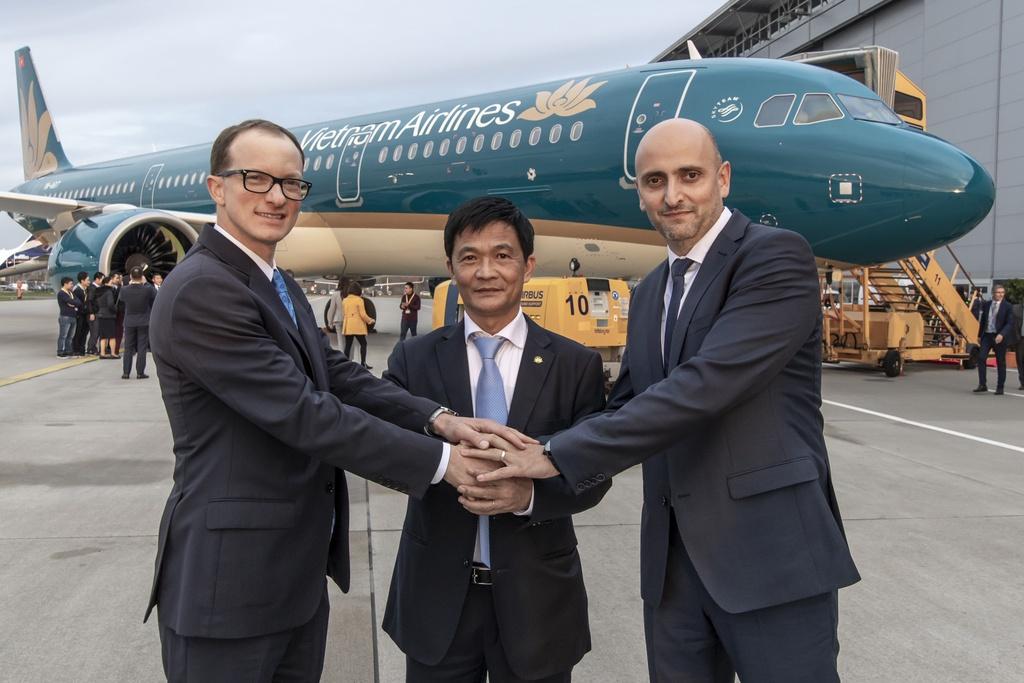 Máy bay A321neo đầu tiên gia nhập đội bay Vietnam Airlines