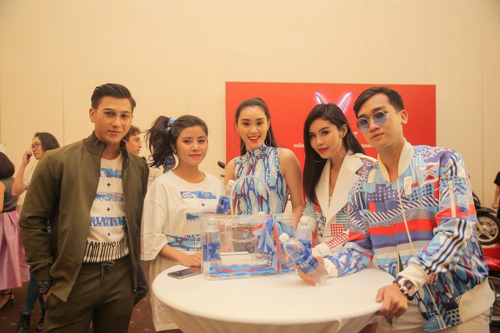Thanh Hang dien menswear, Chau Bui ca tinh du show thoi trang hinh anh 9