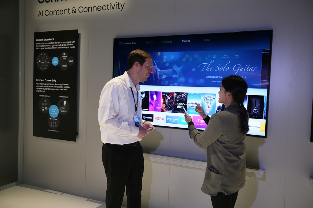 Samsung ra mat TV 8K 98 inch lon nhat the gioi, tich hop AI hinh anh 3
