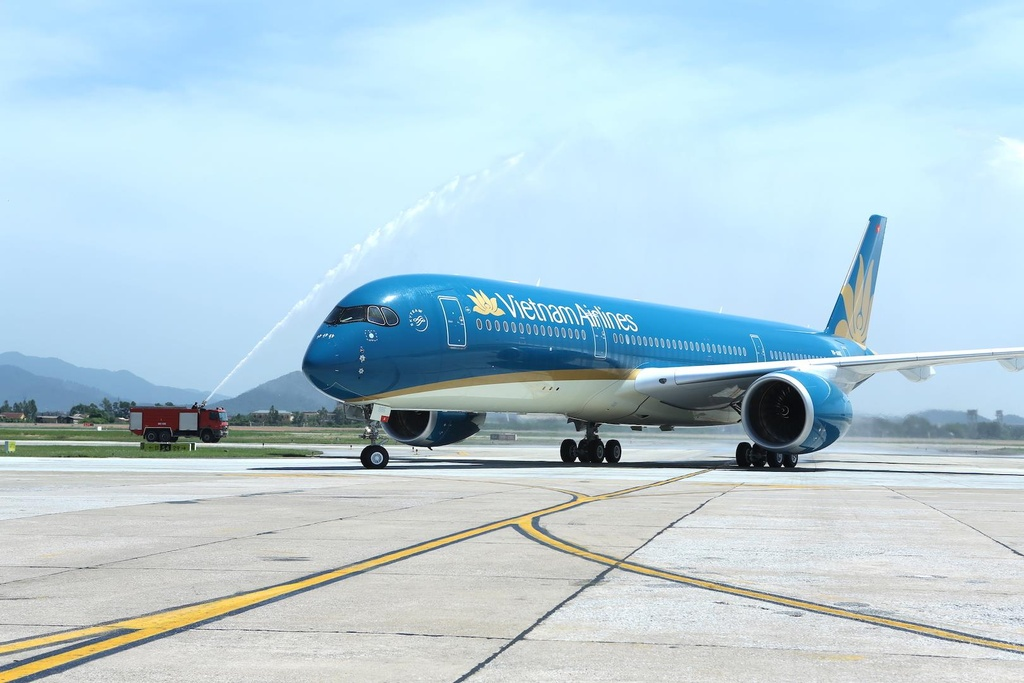 Can canh 'sieu may bay' Airbus A350 cua Vietnam Airlines hinh anh 1
