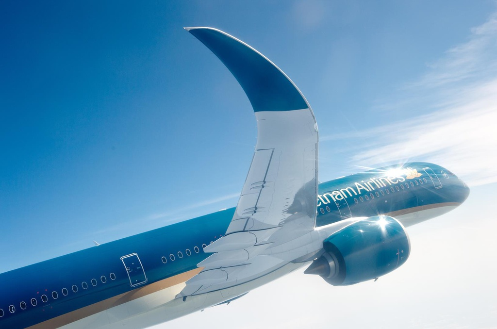 Can canh 'sieu may bay' Airbus A350 cua Vietnam Airlines hinh anh 3
