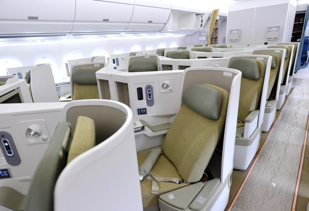 Can canh 'sieu may bay' Airbus A350 cua Vietnam Airlines hinh anh 4