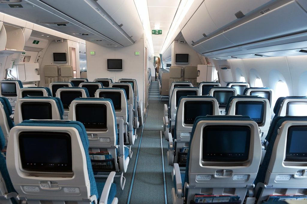 Can canh 'sieu may bay' Airbus A350 cua Vietnam Airlines hinh anh 5
