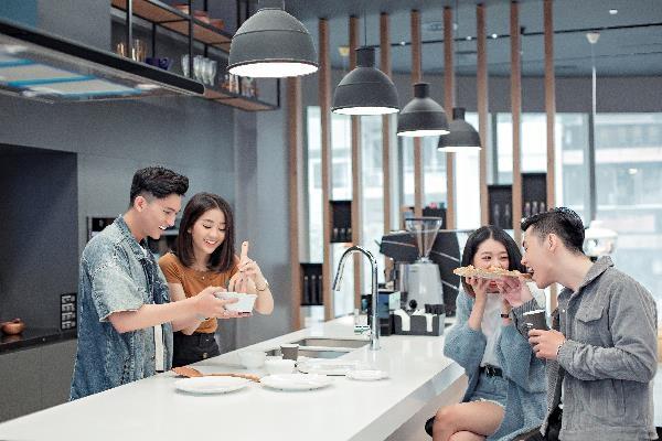 Chef Si Toan tro tai lam banh tai bep thong minh cua Samsung Showcase hinh anh 9