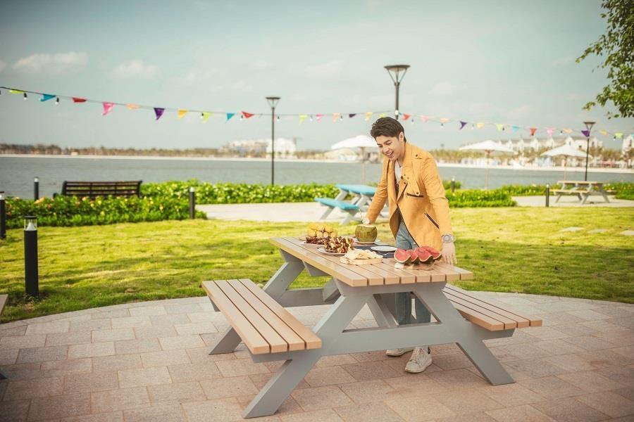 Cung Noo Phuoc Thinh kham pha dieu bat ngo tai Vinhomes Ocean Park hinh anh 3