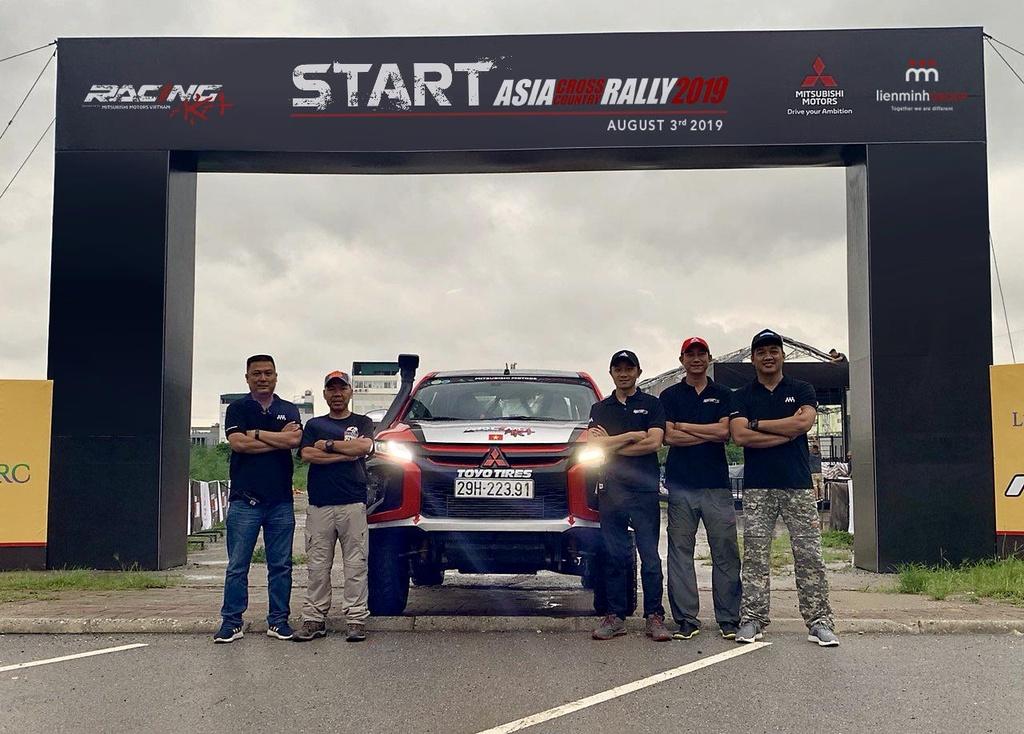 Racing AKA tham gia giai dua xe dia hinh Asian Cross Country Rally hinh anh 4