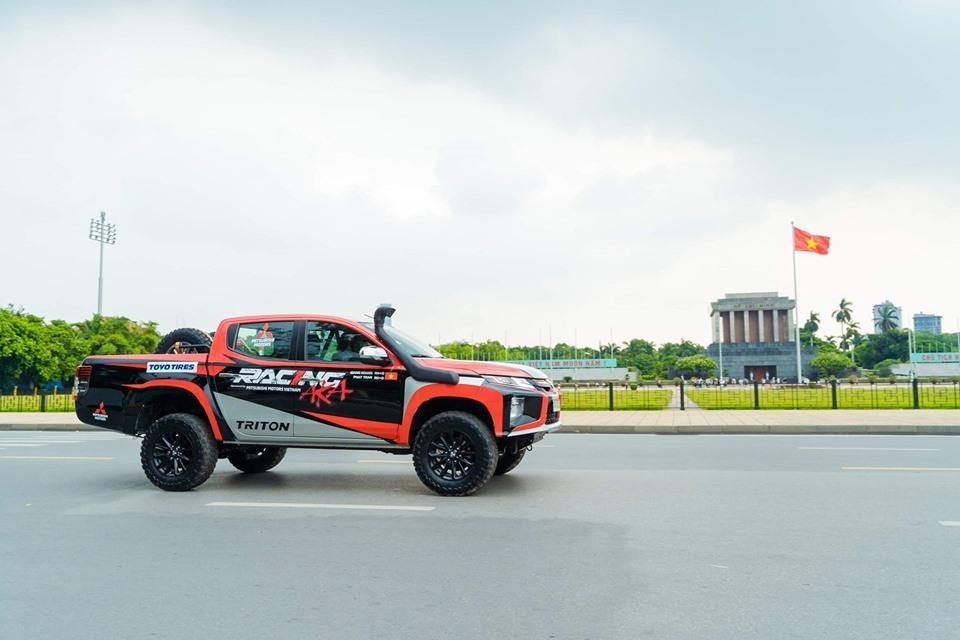 Racing AKA tham gia giai dua xe dia hinh Asian Cross Country Rally hinh anh 1