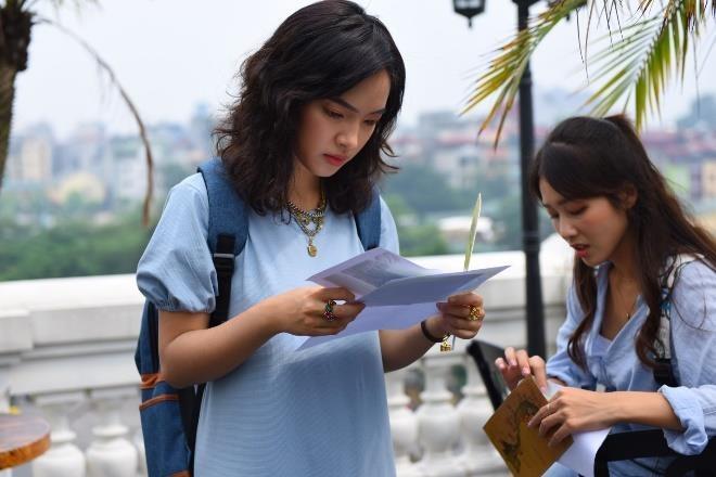 Chau Bui, Kha Ngan hoi ngo 'hot boy cover' Minh Chau tai Ha Noi hinh anh 1